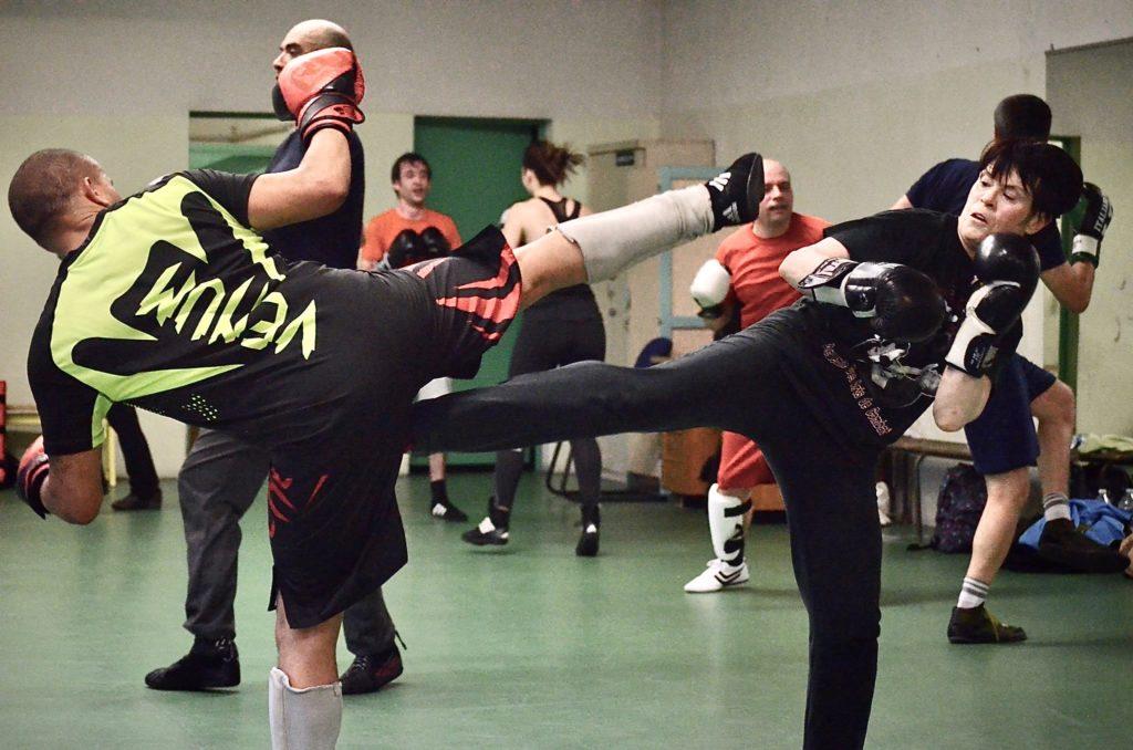 cours de boxe francaise